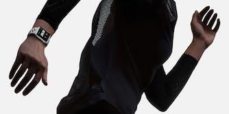 Apple Watch, Nike, woman running with Watch on wrist