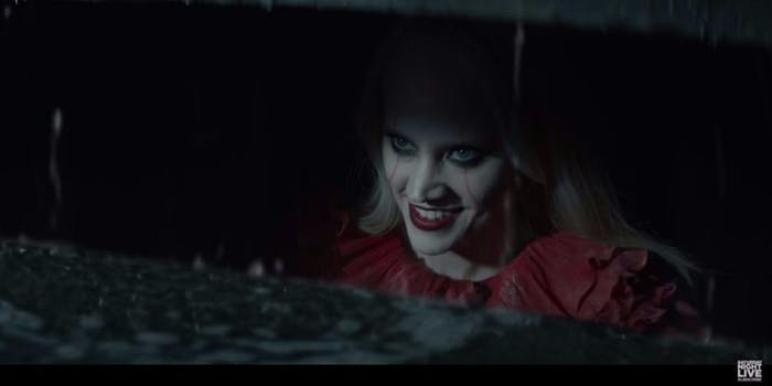 Kellyanne Conway SNL pennywise