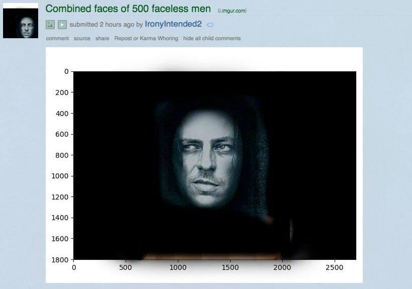 500 faces of faceless men meme