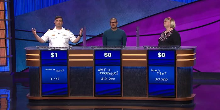 $1 Jeopardy winner