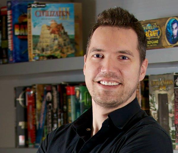 Jake Solomon, creative director of XCOM: Enemy Unknown and XCOM 2.
