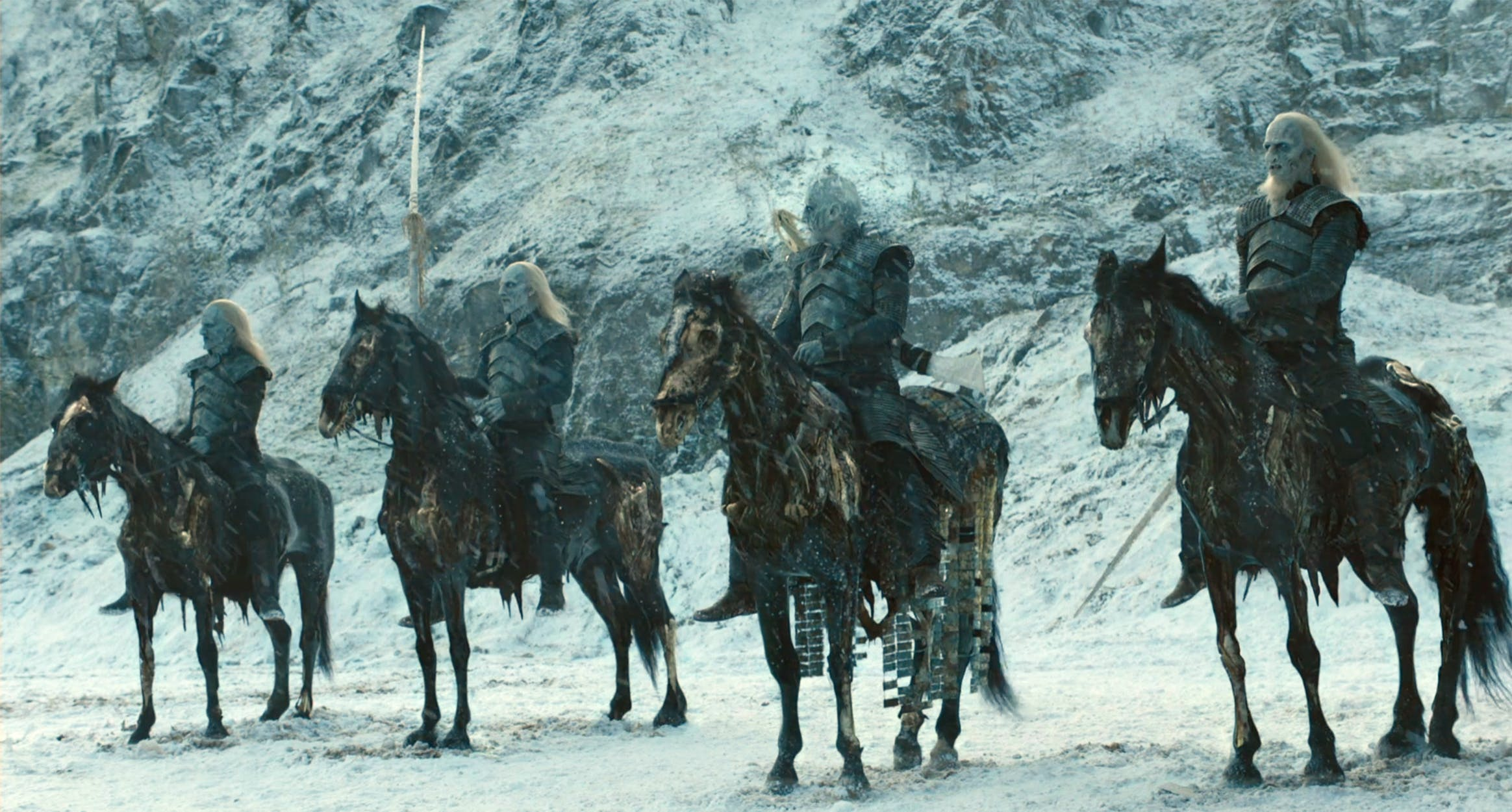 white walkers horses