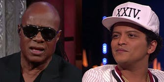Stevie Wonder defended Bruno Mars against accusations of cultural appropriation.