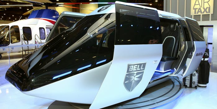 bell flying taxi