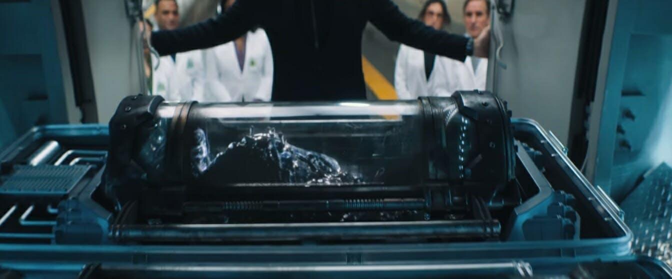 venom movie symbiote trailer