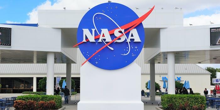 NASA Logo at Kennedy Space Center