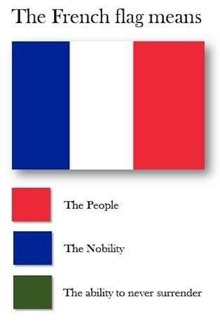 france flag meme