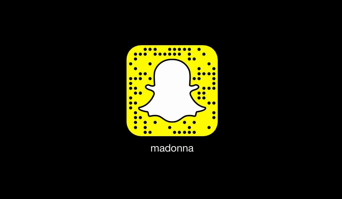 celebrity snapchats: madonna
