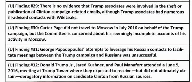 house intelligence committee report