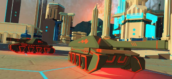 Battlezone was another fantastic game shown at the PS VR event.