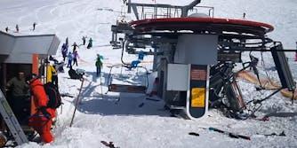 Georgia ski lift malfunction