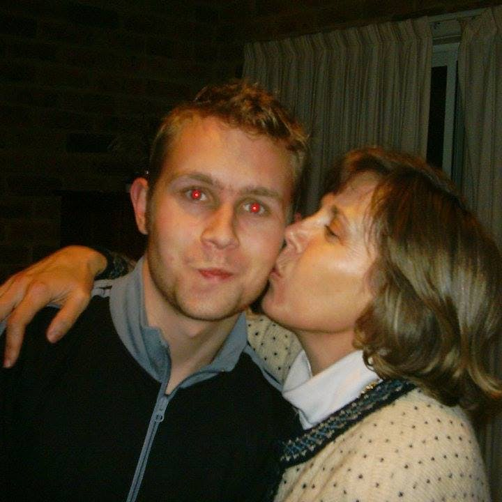 """""""This was taken in 2005 or so. At this point, Jacquie had Pick's Disease, but it had been misdiagnosed as menopause. She would be about 48 here."""""""