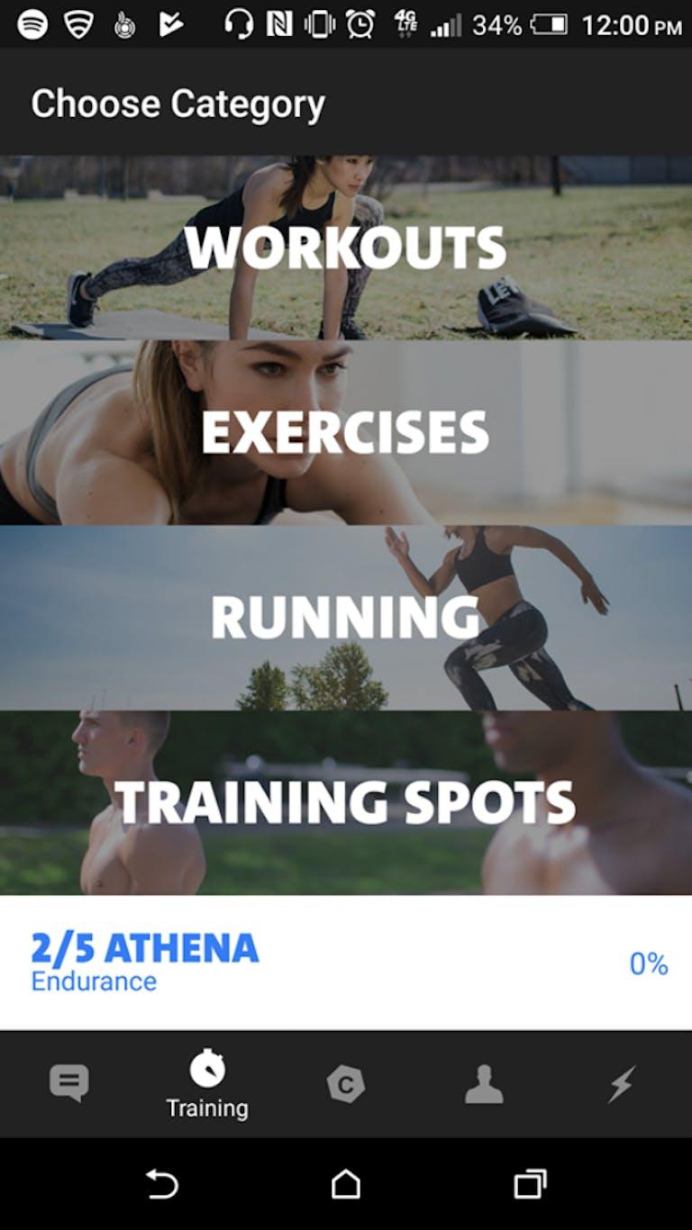 best workout apps : Freeletics Bodyweight