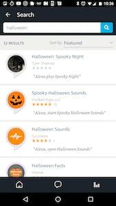 Halloween Alexa Skills