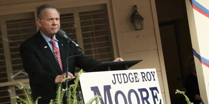 Republican senate candidate Roy Moore sent out a fundraising email following a report where women said he engaged in sexual misconduct with them in the past