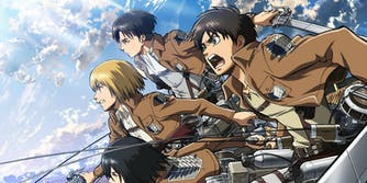 best anime on crunchyroll - attack on titan