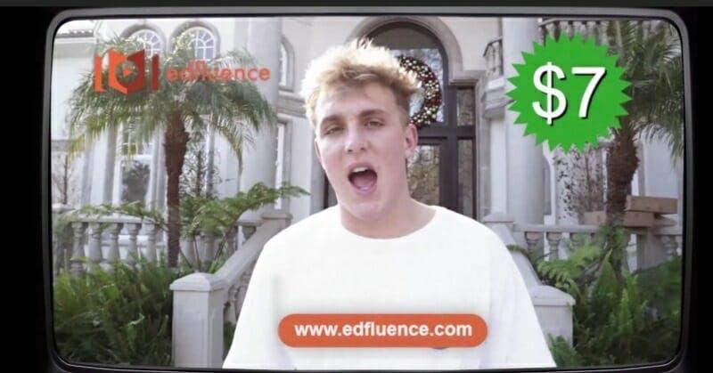 Jake Paul Edfluence