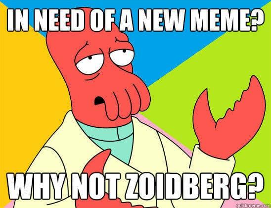 futurama memes : why not zoidberg