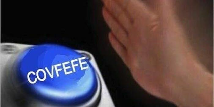 best covfefe memes - blue nut button