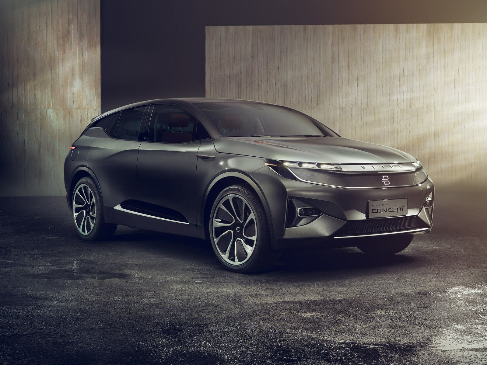 byton concept suv electric self-driving car
