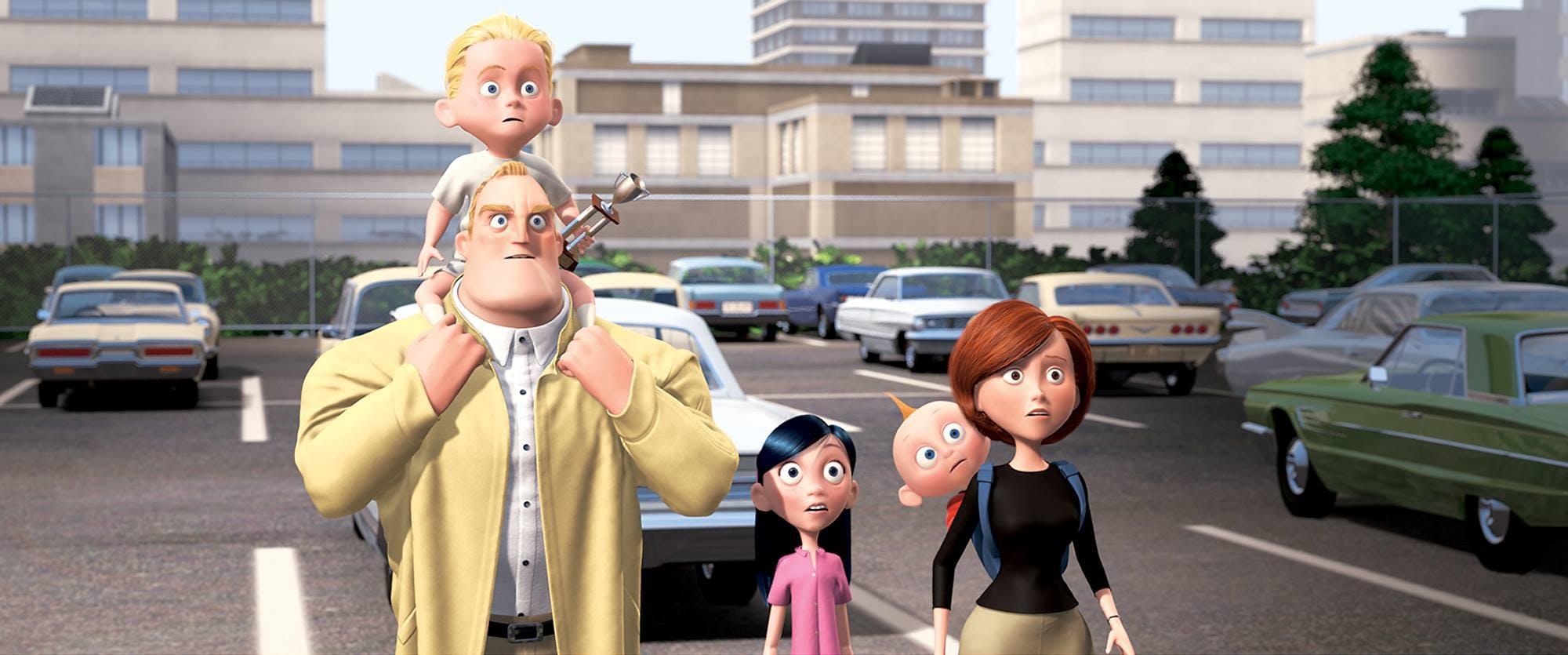 pixar company : the incredibles
