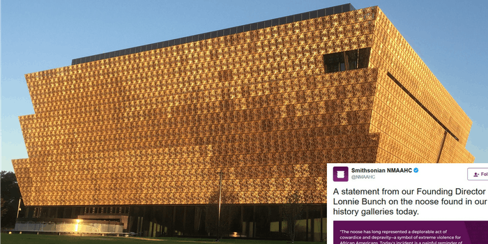 National Museum of African American History and Culture noose lynching