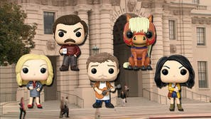 parks and recreation funko