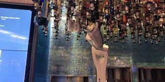 tipsy robot bar las vegas robot bartender