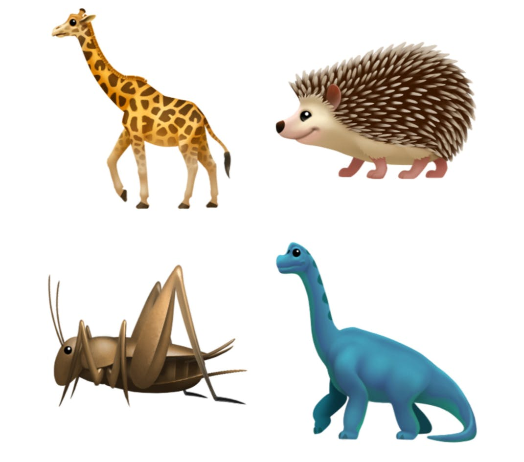 ios 11.1 emoji unicode 10