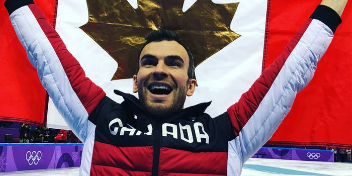 Eric Radford became the first openly gay Winter Olympian to win gold.