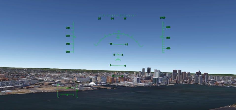 free flight simulators google earth