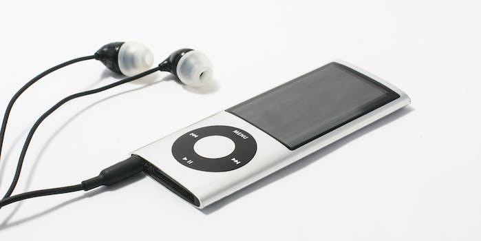 ipod nano music player