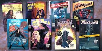 Jessica Jones season 2 episodic comic book covers
