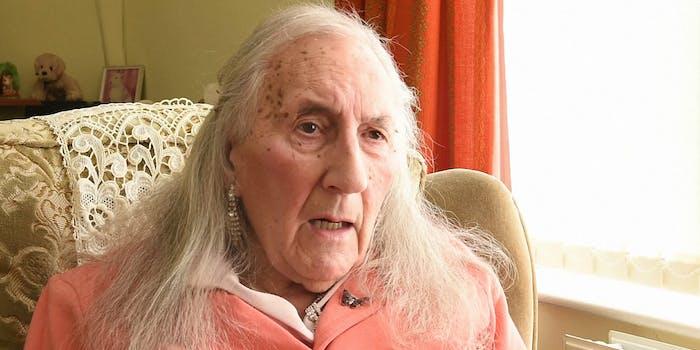 WW2 veteran Patricia Davies