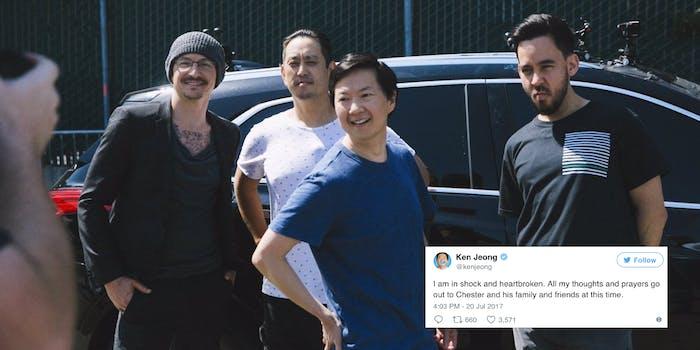 Chester Bennington and Linkin Park on Carpool Karaoke