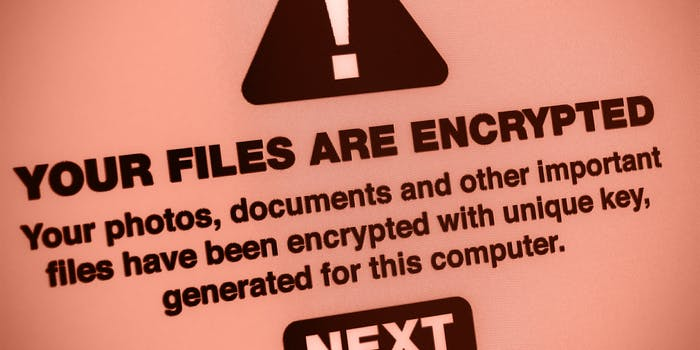 """""""Your files are encrypted"""" malware warning"""