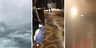 bomb cyclone cruise ship