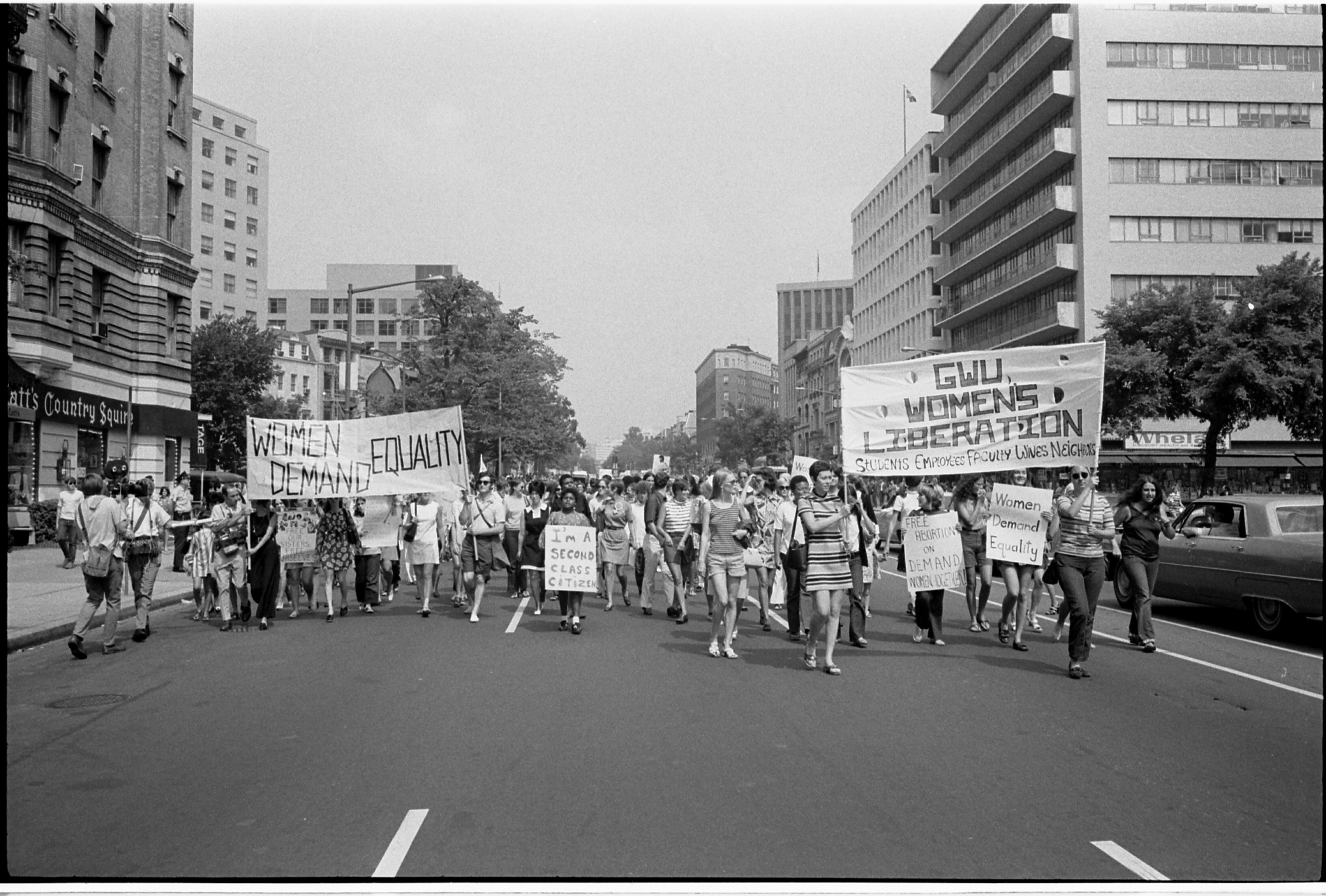 womyn : second wave feminism