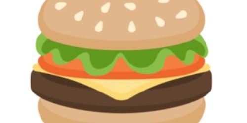 facebook burger emoji