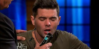 'Survivor' winnerTodd Herzog takes a breathalyzer test on 'Dr. Phil.' He says the show enabled his alcoholism for his 2013 appearance.