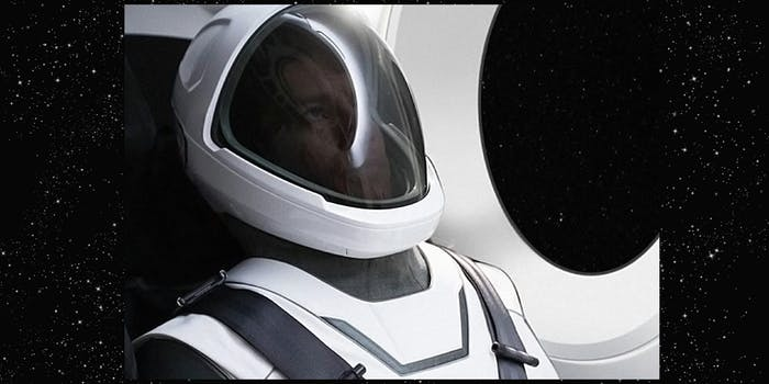 New SpaceX spacesuit