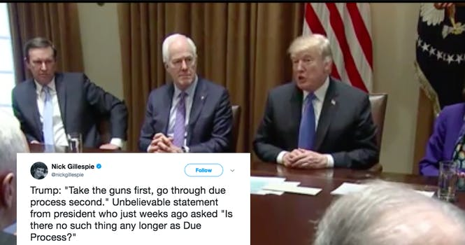 trump due process