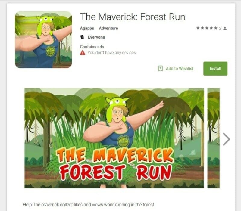 Logan Paul Maverick Forest Run game