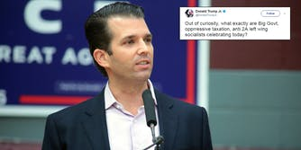 Donald Trump Jr. tweeted on July 4th