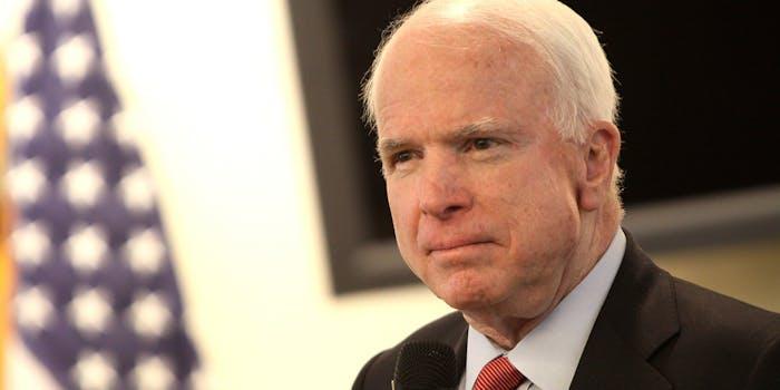 John McCain surgery