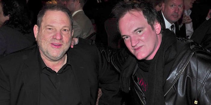 Quentin Tarantino speaks out against Harvey Weinstein