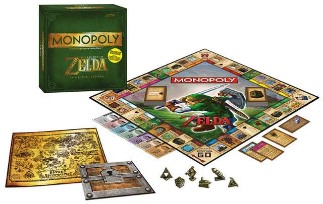Legend of Zelda Monopoly game