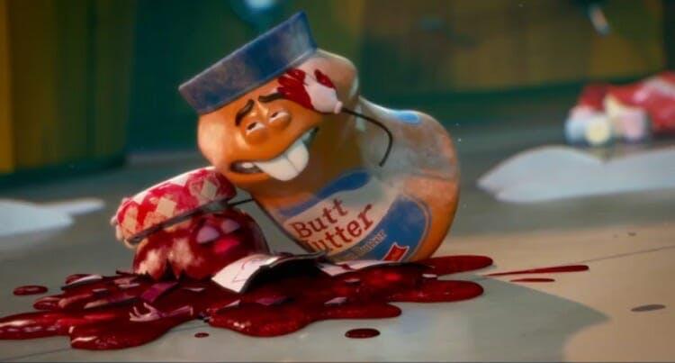 weird movies netflix : sausage party