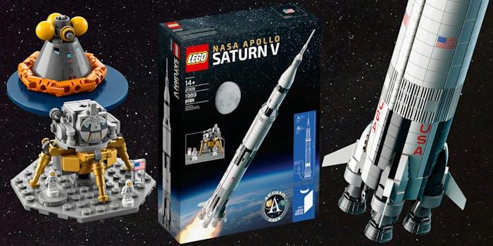 LEGO NASA Apollo mission toys