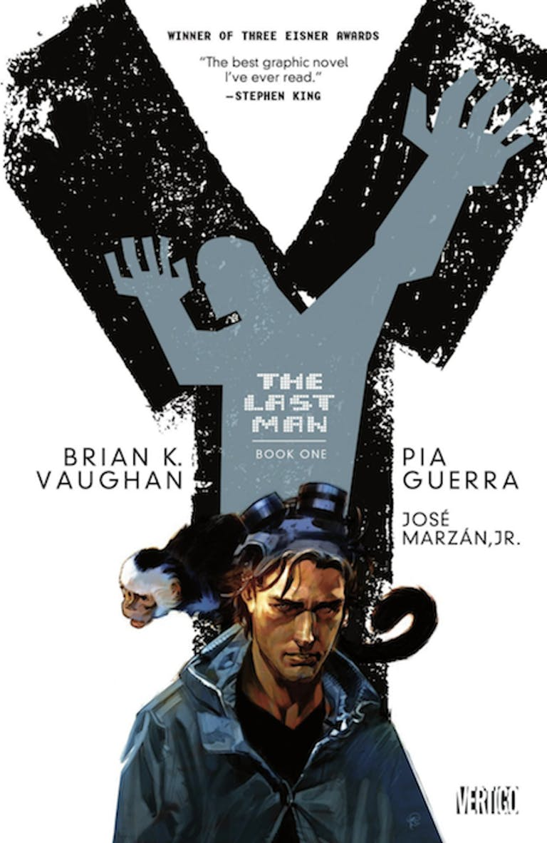 comic books for adults : y the last man